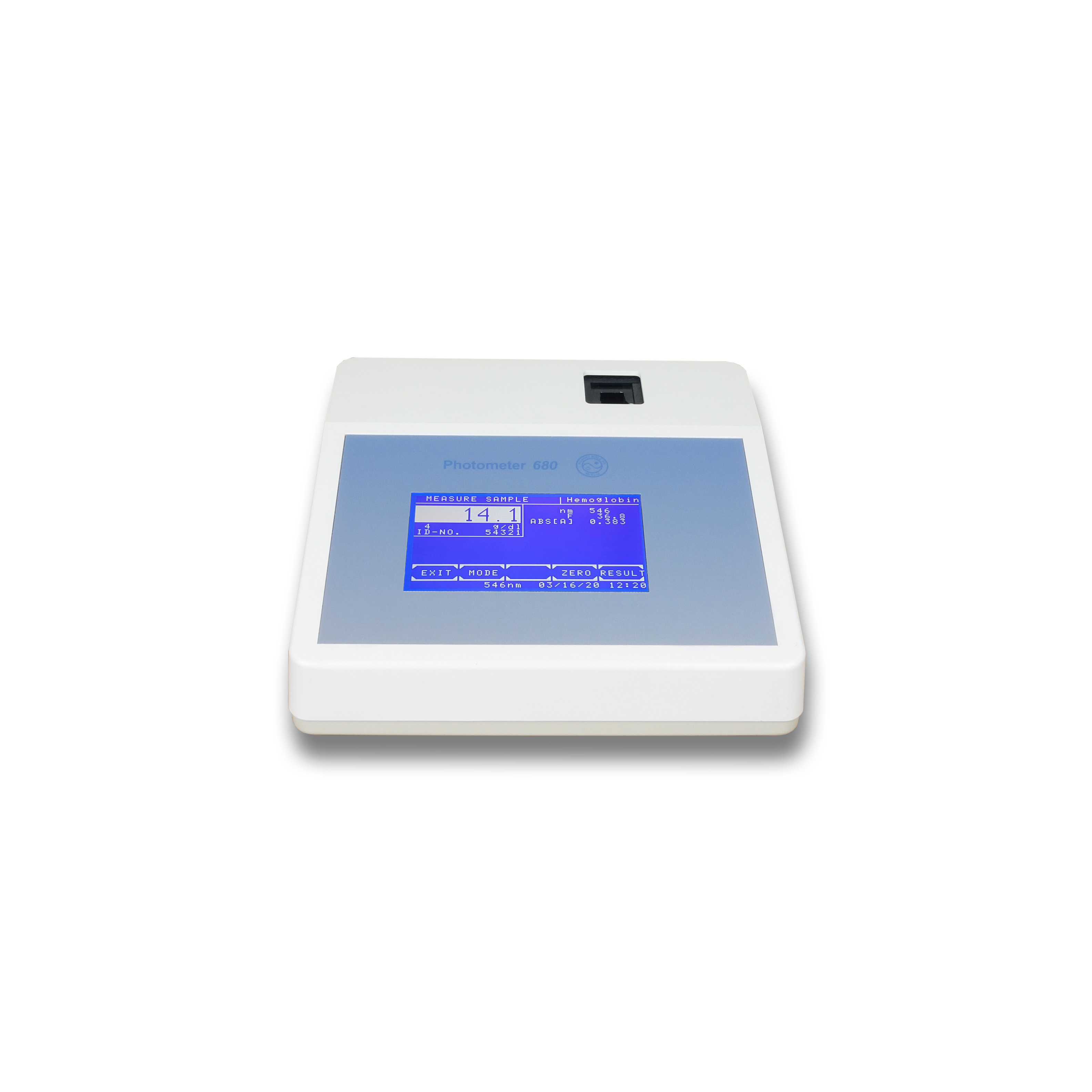 Photometer 680 with filter wheel